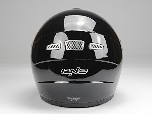 Integralhelm Motorradhelm Helm BNO F500 erschiedene Farben (XS,S,M,L,XL,XXL) (XXL, Schwarz glänzend) - 5