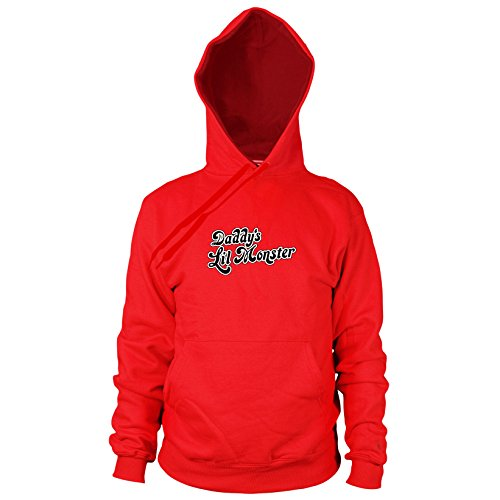 Planet Nerd Daddy's Little Monster - Herren Hooded Sweater, Größe: XXL, Farbe: (Batman Arkham Asylum Kostüme Ps3)