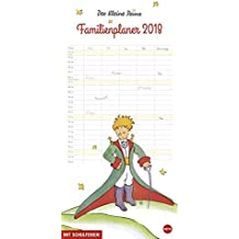Der Kleine Prinz Familienplaner - Kalender 2018