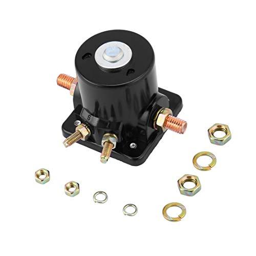 CHANNIKO-DE Hohe Qualität Neue Metall Starter Magnetschalter Relais für Johnson OMC Evinrude Außenborder 12 V Balck Perfekt Fit In -