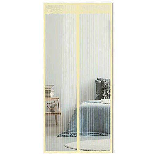 TYZXR Magnet MüCkenschutz Fliegengitter TüR, Automatisches SchließEn Netz Vorhang, Zum Balkon Fenster Moskitonetz 90 * 210 cm, 80 * 200cm