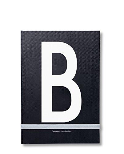 Design Letters Notizbuch mit Buchstabe B