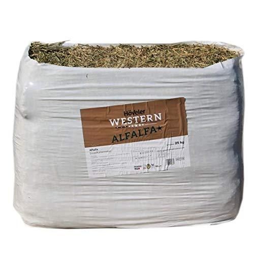 Höveler Western Alfalfa Strukturfutter für Westernpferde 25Kg