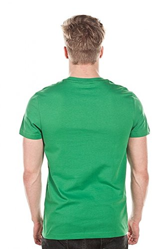 Reebok CC Applique TEE-T-Shirt-Homme Verde (Glegrn)