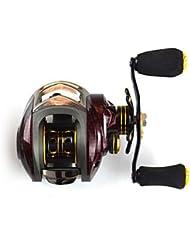 Carretes de lanzamiento 6.3?1 14 Rodamientos de bolas -ManosPesca de Mar / Pesca de baitcasting / Pesca en hielo / Pesca jigging / Pesca