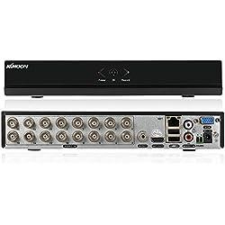 KKmoon 16 Kanal 960H D1 CCTV Netzwerk Einzelmaschine H.264 HDMI Haussicherheitssystem Echtzeit