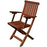 Vigor 9692805 silla plegable de madera