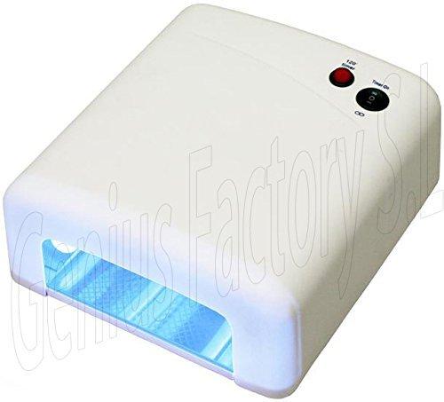 Lampara 36W Ultravioleta UV Secador de Uñas para Manicura Gel Esmalte Permanente