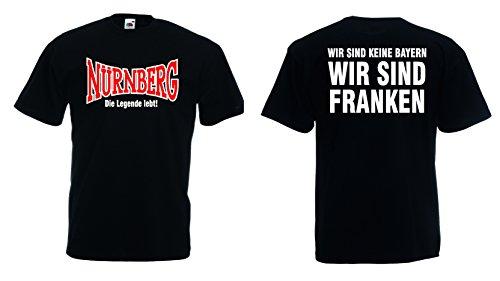 Nürnberg Ultras T-Shirt Die Legende lebt! Wir sind Franken|XL