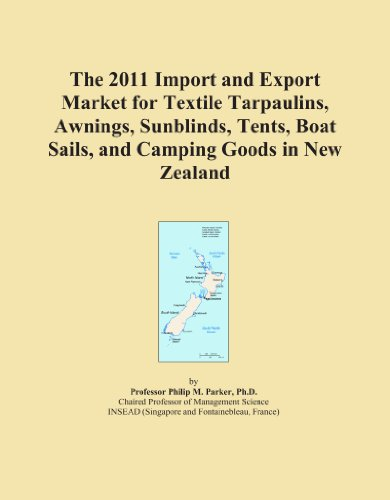 The 2011 Import and Export Market for Textile Tarpaulins, Awnings, Sunblinds, Tents, Boat Sails, and Camping Goods in New Zealand