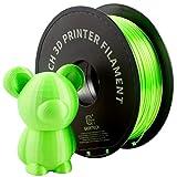 GIANTARM Filament PLA 1.75mm Silk Grün,3D Drucker PLA filament 1kg Spool