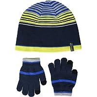 Columbia Youth Hat and Glove Set Conjunto de Gorro y Guantes, Niños, Collegiate Navy, Talla única