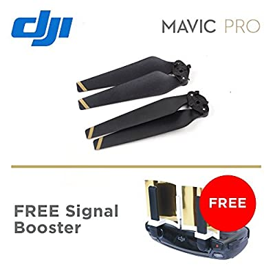 Quick-Release GOLD Propeller For DJI Mavic Pro Drone 8330 + FREE signal booster