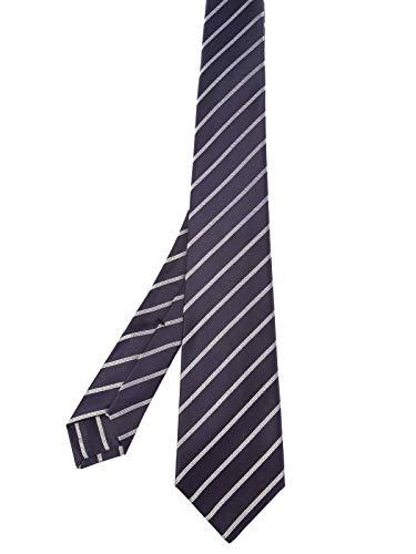 Kiton Herren 1E311violet Violett Seide Krawatte