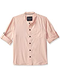 Cherokee by Unlimited Boys' Plain Regular Fit Shirt