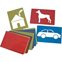 Giant Assorted Stencils (Set of 12)