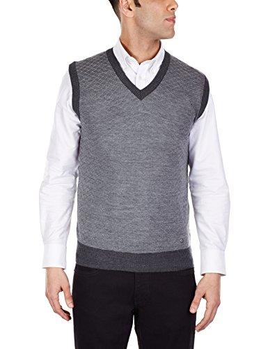 Arrow Newyork Men's V-neck Wool Blend Sweater