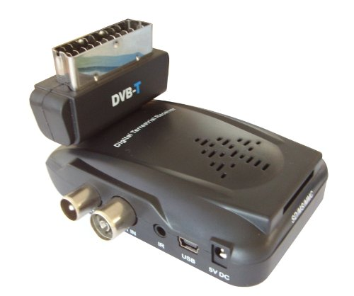 Set DVB-T Receiver mit DVB-T Antenne 25 DB