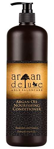 Argan Deluxe Conditioner in Friseur-Qualität 1000 ml - stark pflegend mit Arganöl für Geschmeidigkeit und Glanz -