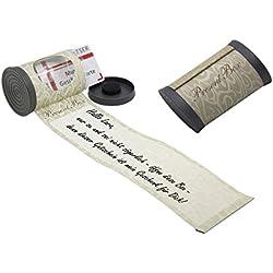 Present Box Geschenkbox - Geschenkverpackung für Gutscheinkarten und Kleinigkeiten. Ideal zur Hochzeit, Geburtstag. Banderole für eigenen Grusstext. Geschenkverpackung und Grusskarte in einem