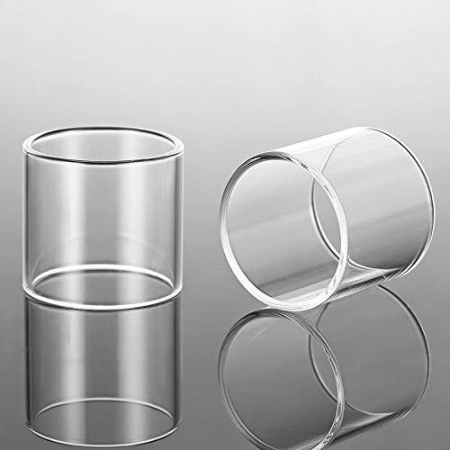 Denghui-ec, 2 stücke Ersatzglas Tank für Kanger EVOD PRO V2 / Toptank Mini/Subtank Mini/Subtank Mini-c-Transparent, Frei von Tabak und Nikotin (Bundle : EVOD PRO V2, Color : Clear)