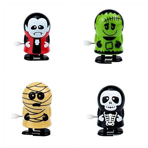 4tlg Kreative Aufziehspielzeuge Halloween Sortierte Uhrwerk Spielzeug