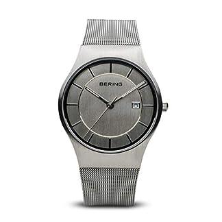 BERING Reloj Analógico para Hombre de Cuarzo con Correa en Acero Inoxidable 11938-000