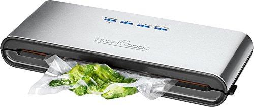 ProfiCook PC-VK 1080 Edelstahl-Vakuumiergerät, Lebensmittel bleiben vakuumiert bis zu 8x länger frisch - 2