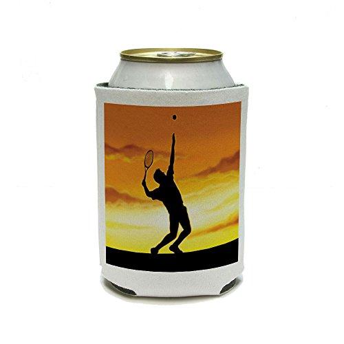 Coucher Du Soleil de Tennis de Sport peut refroidisseur isolant – Drink – Boisson Isotherme Support