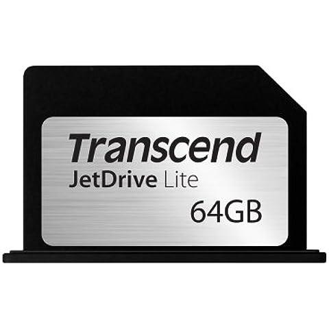 Transcend TS64GJDL330 - Tarjeta de expansión de memoria con flash MLC 95MB/s de 64 GB para MacBook Pro Retina 13