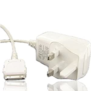 iDelta iPod, iPad & iPhone Mains Charger - White