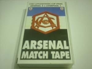 1987 LITTLEWOODS CUP FINAL ARSENAL v LIVERPOOL VHS VIDEO