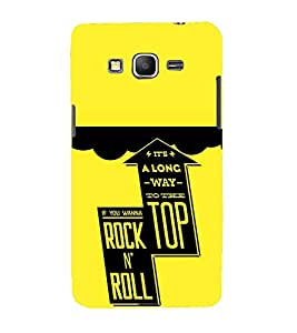 FUSON Top Rock N Roll 3D Hard Polycarbonate Designer Back Case Cover for Samsung Galaxy Grand Prime :: Samsung Galaxy Grand Prime Duos :: Samsung Galaxy Grand Prime G530F G530Fz G530Y G530H G530Fz/Ds