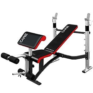 Soins Fitness Pro Max Banc pour Olympiques & utilisation standard avec fixation Body Solid Preacher et jambes