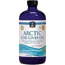 Aceite de hígado de bacalao ártico, Orange, fl oz 16 (473 ml) - Naturals nórdicos