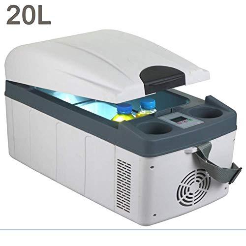 er Kompressor Gefrierschrank-Elektrische Kühlbox 24 V / 12 V / 220-240 V Grau Kühlschrank Auto Kühlschrank für Camping In Sport Im Freien Home Tour ()