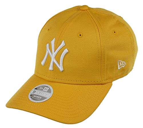 New Era New York Yankees Cap New Era MLB Baseball 9forty Damen Verstellbar Gelb - One-Size