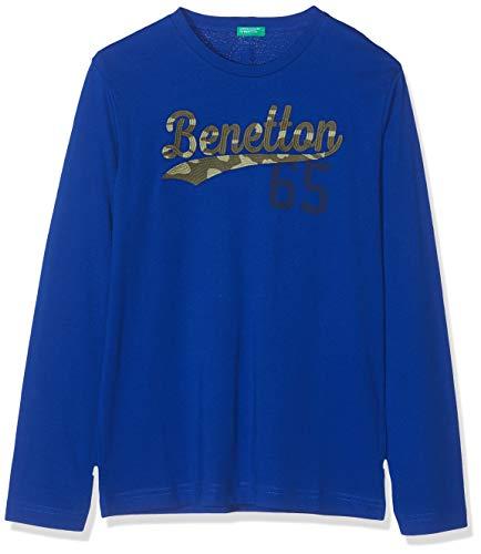 United Colors of Benetton Jungen Basic B2 Pullunder, Blau (Bluette 23g), 90 (Herstellergröße: 2Y)