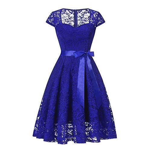 Vestidos Mujer, Lenfesh Vintage 50s 60s Vestido Sin