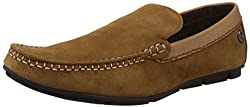 Lee Cooper Mens Beige Leather Loafers and Mocassins - 10 UK/India (44 EU)