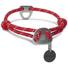 Ruffwear Corda Collare per Cani, Grande, Ribes Rosso, Knot-a-Collar