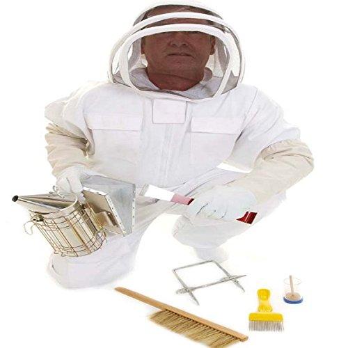 Simonthebeekeeper - Imker Anzug, Handschuhe Komplettes Anfängerset XXL (Komplette Biene Anzug)
