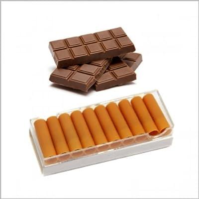 10 x Nikotindepots mit 0,0mg Schokolade Chocolate Nikotin für die Elektronische Zigarette von Oramics von Oramics®