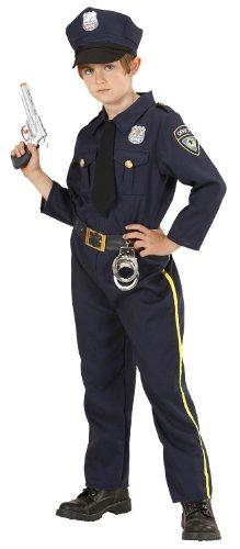 Widmann 2040 - Poliziotto, Blu, 140 cm, 8-10 Anni
