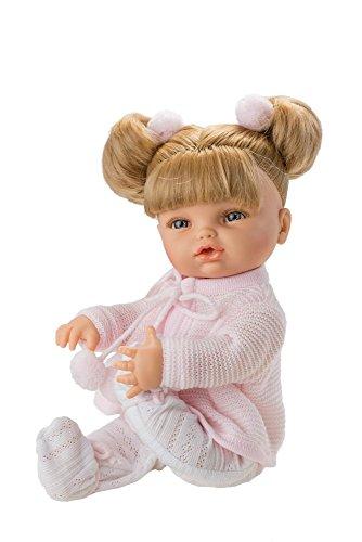 Unbekannt Berjuan–Puppe posturitas groß Jacke Wolle Pink, Mehrfarbig (2400)