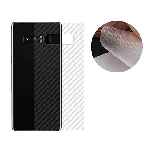 KAIBSEN® 3D Clear Carbon Rück Wandschutz Folie für Samsung Galaxy Note9/Note8, Samsung Galaxy S10+/S10/S10e/A9 2018/A9s/S9/S9+/S8/S8 Plus(Nicht gehärteter Glas Film)