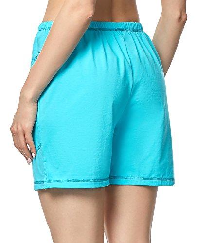 Merry Style Damen Schlafanzugshose MPP-003 Türkis-2
