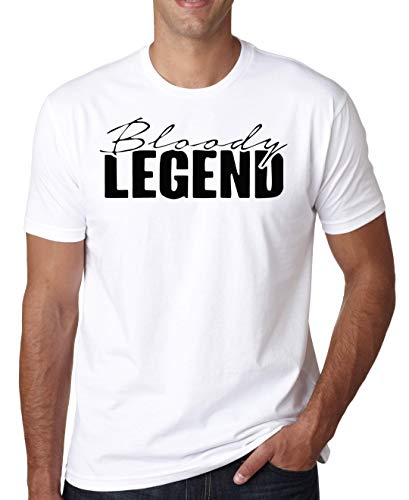 Bloody Legend Logo Herren T-Shirt Small -