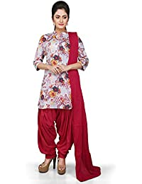Vastra Vinod Women's Cotton Salwar Suit Set - B01KVE4QG8