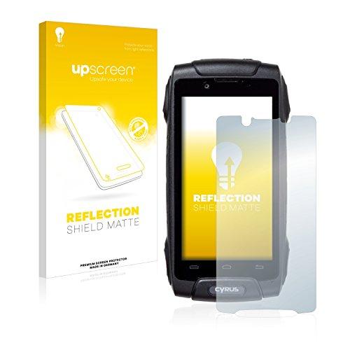 upscreen Entspiegelungs-Schutzfolie kompatibel mit Cyrus CS 30 - Anti-Reflex Bildschirmschutz-Folie Matt